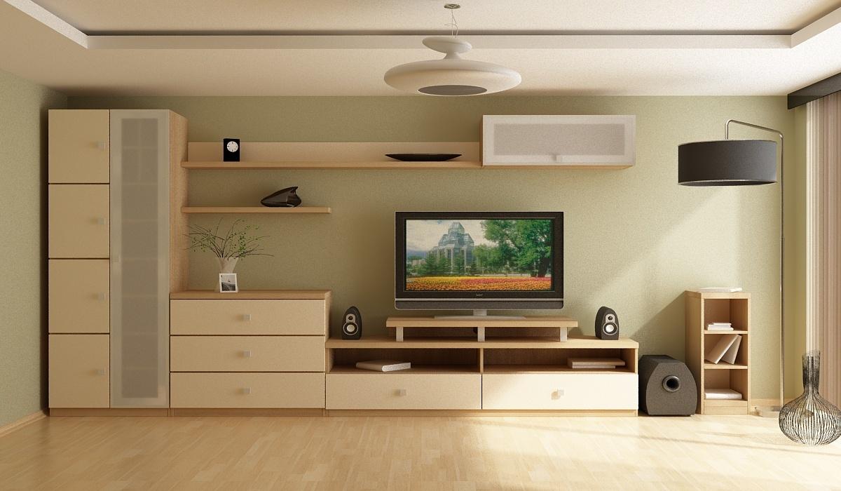 современная корпусная мебель на заказ для гостиной Woodroom