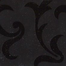 декорированное стекло узор тёмное