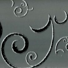 декорированное стекло узор серое