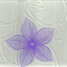 декорированное стекло орхидея