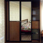 шкаф купе на заказ с зеркалом Семёновская набережная