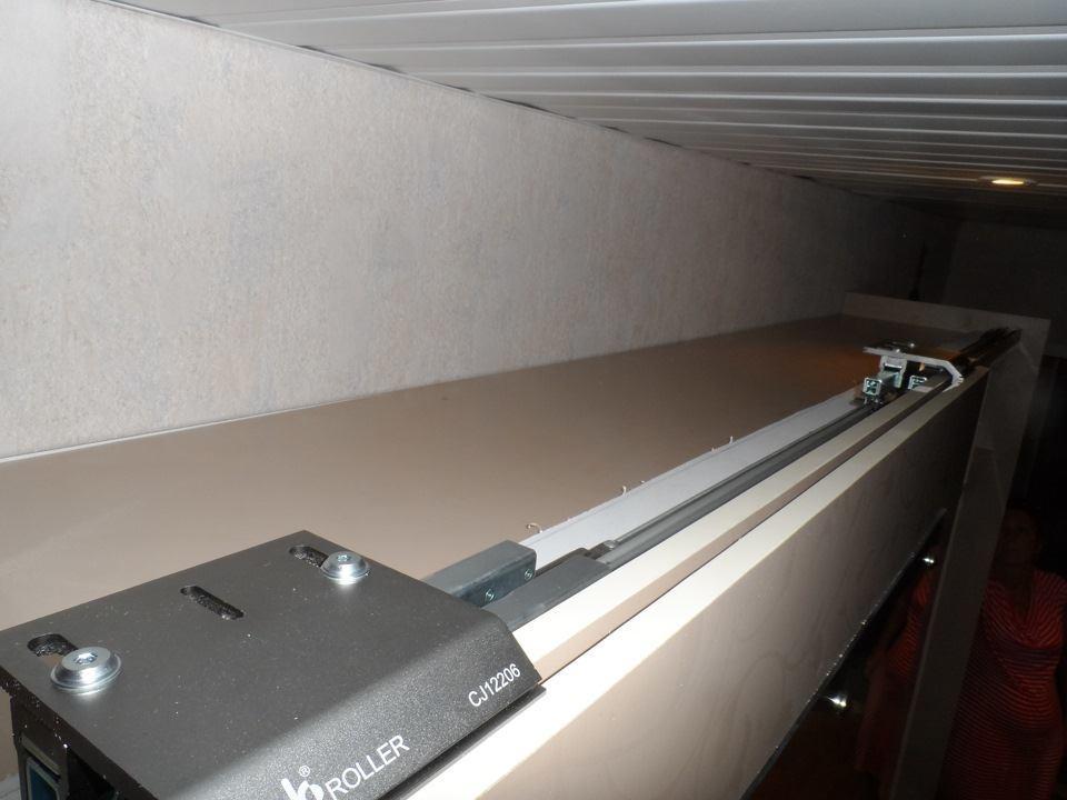 Крепление подвесной системы (сверху)