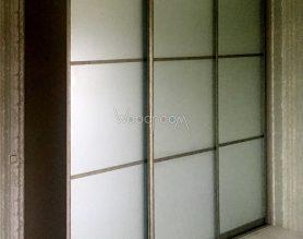 Встроенный шкаф с зеркалом в спальню Александрово