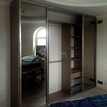 Встроенный шкаф купе в спальню Алесандрово