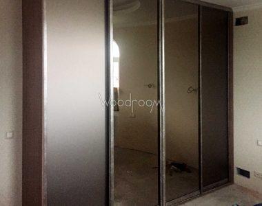 Встроенный шкаф на заказ в спальню Алесандрово