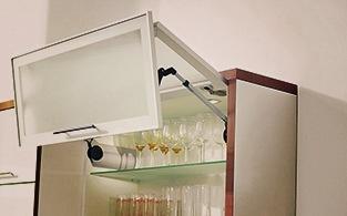 подъёмный механизм для двух фасадов кухни