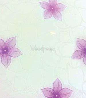 декорированное стекло цветы