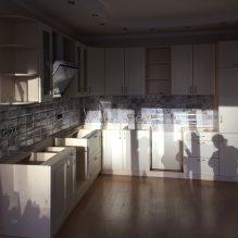 Кухня в Апрелевке, 260000 р. (деревянные фасады, без столешницы)
