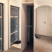 Встроенный шкаф купе в прихожую Немчиновка