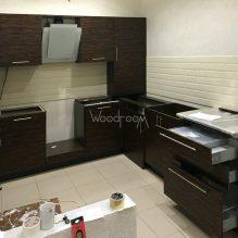 Угловая кухня, 3-й проезд Подбельского, 118000р. (без столешницы)