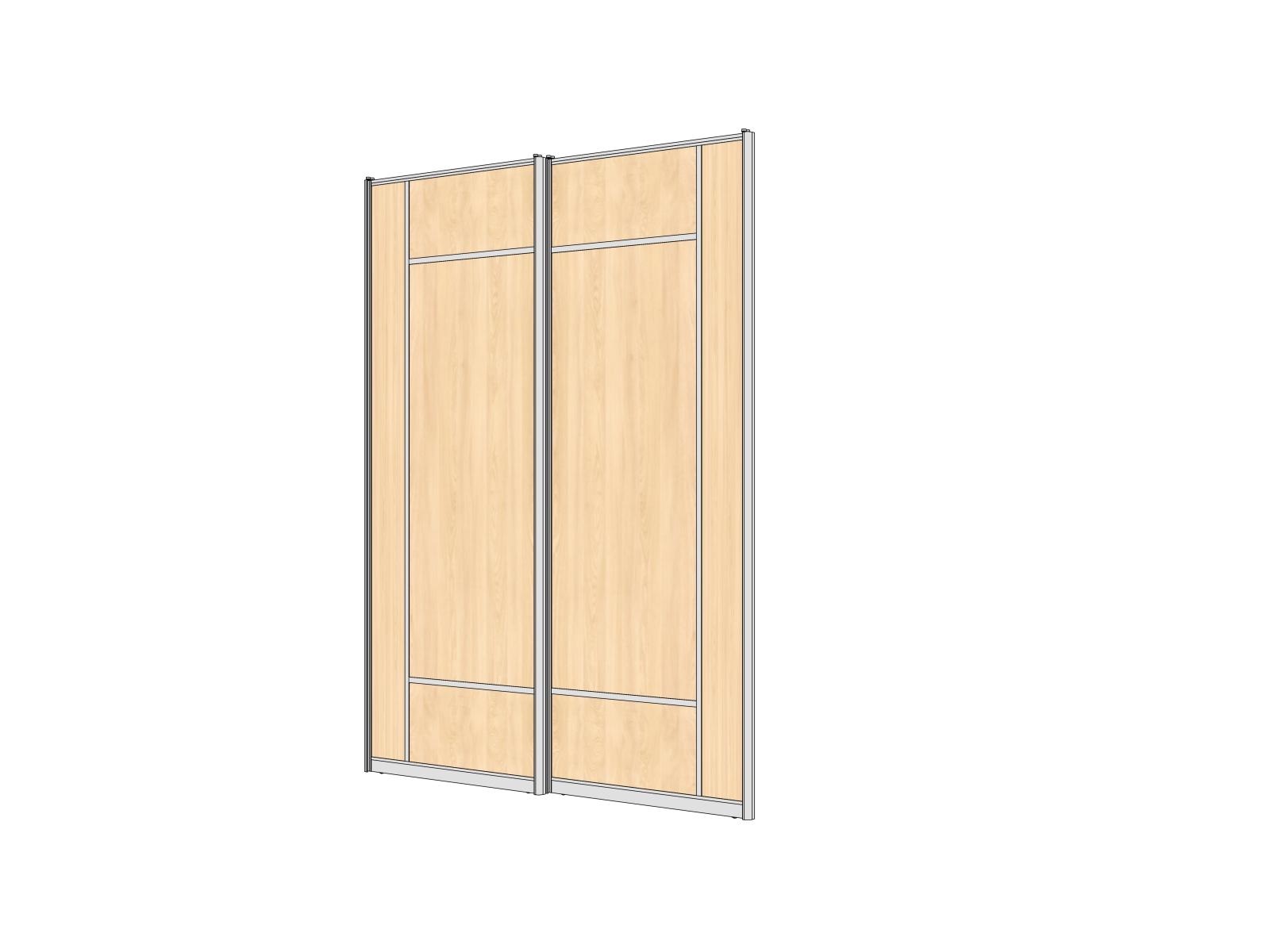 комбинированные двери из лдсп