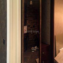 Встроенный шкаф на заказ с тонированными зеркалами ксеньинский переулок