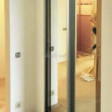 Встроенный шкаф с зеркалами ул.Лётчика Бабушкина