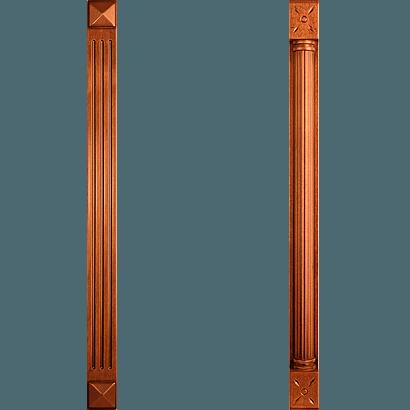 Деревянные пилястры