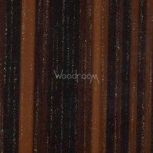пвх плёнка зебрано тёмный с позолотой