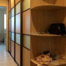 Шкаф купе на заказ с комбинированными дверями Борисовские Пруды
