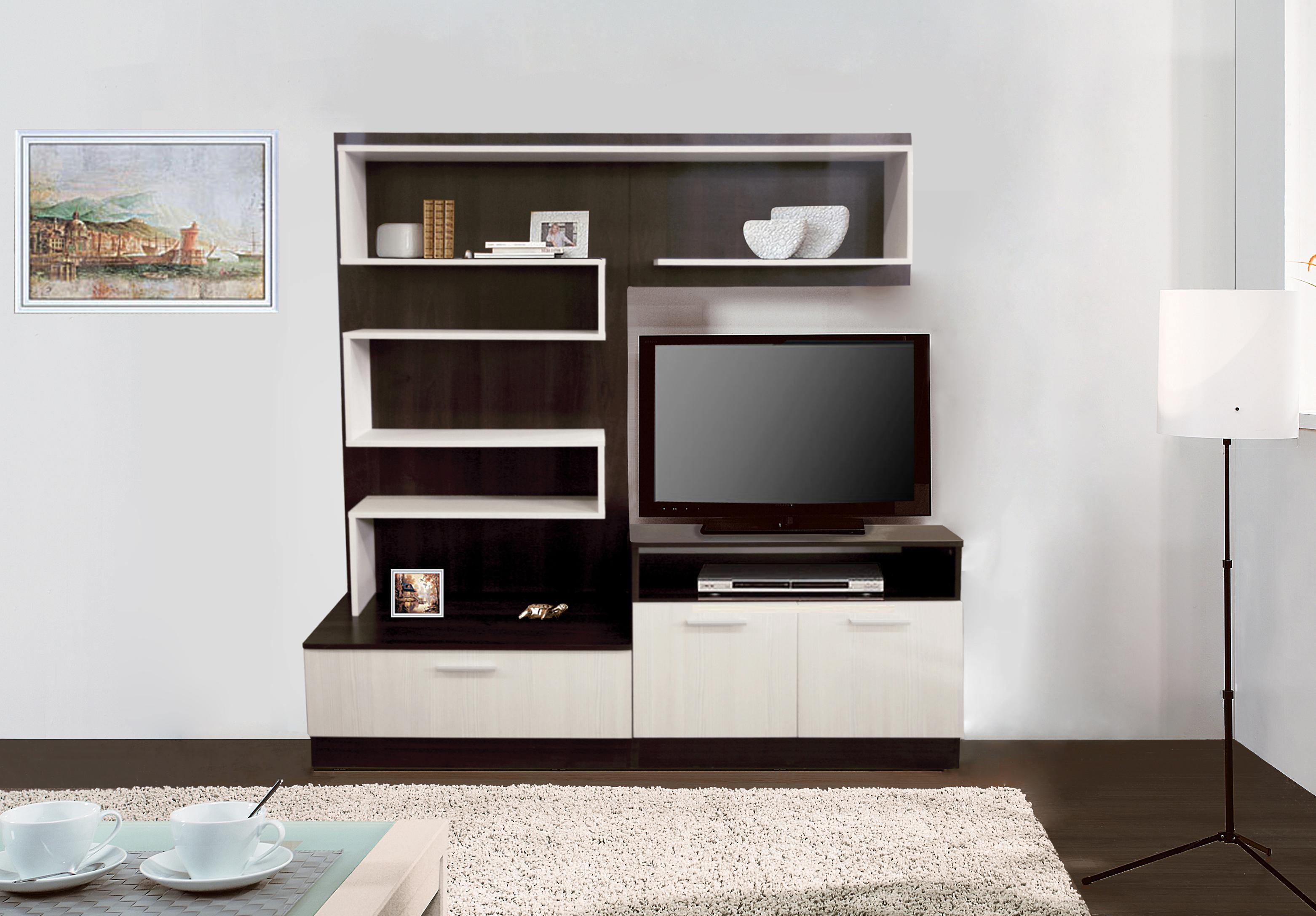 Woodroom Современная корпусная мебель на заказ для гостиной Woodroom